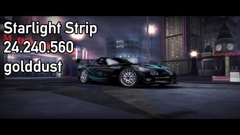 NFS Carbon Drift Starlight Strip 24 240 560