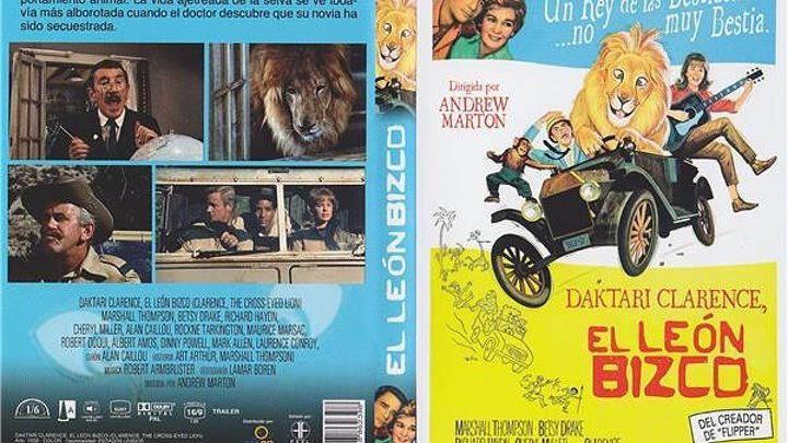 Daktari Clarence el león bizco *1965*