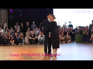 Carlitos Espinoza y Noelia Hurtado