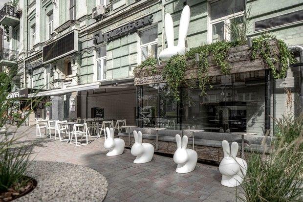 Бар Rabbit Habit в Киеве от студии YOD Group