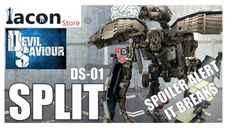 Devil Saviour DS-01 SPLIT Transformers Revenge of the Fallen Mixmaster