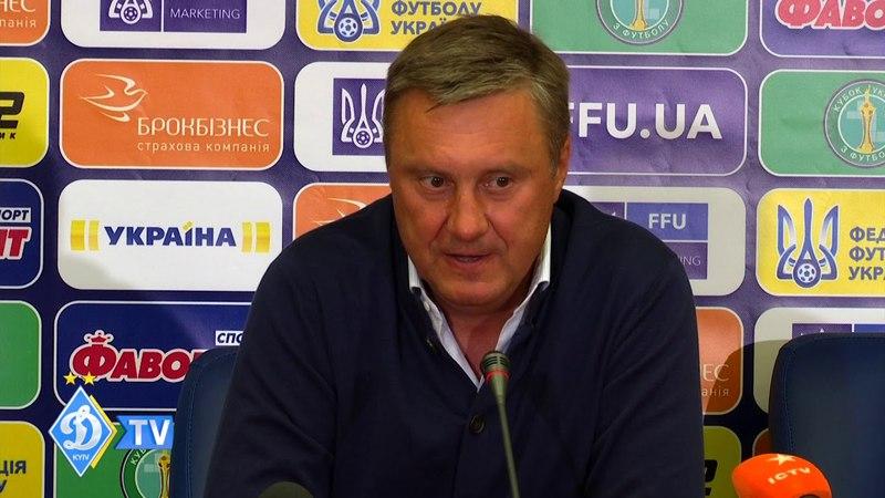 Олександр ХАЦКЕВИЧ: Рівень майстерності команди суперника був сьогодні вище