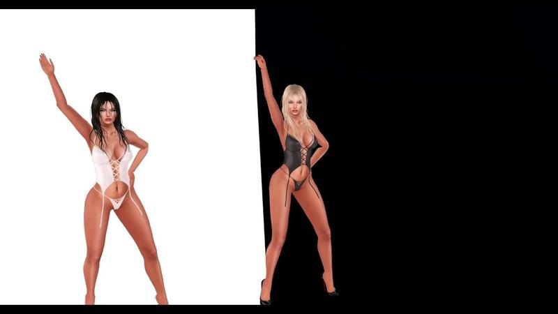 SACRARIUM grid black@white Britney Spears I'm A Slave 4 U
