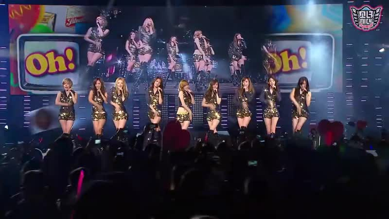 SNSD Girls' Generation Oh SMTown Live in Madison Square Garden