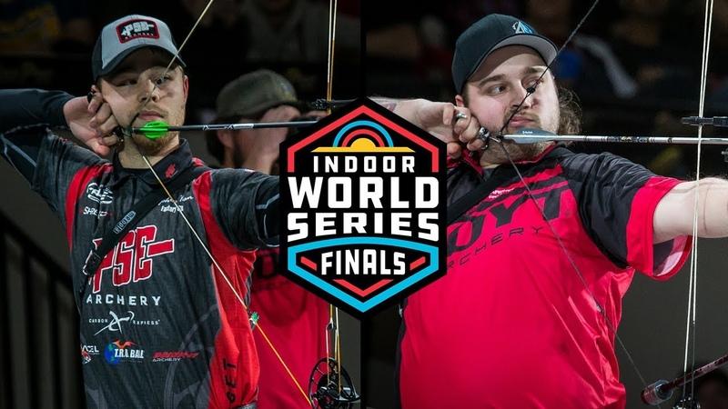 Kris Schaff v Stephan Hansen – compound men's gold  2019 Indoor World Series Finals