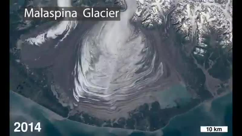 Time-lapses from space can help track how Earths polar ️regions are changing, watching as glaciers retreat and ice sheets melt