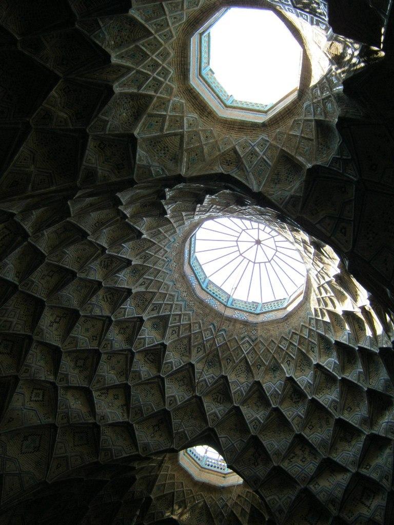 Потолок базара в Кашан
