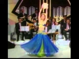 Amani Lebanese belly dancer showreel mp4
