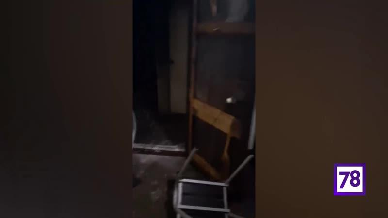 Пожар на Громова