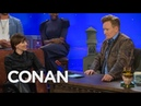 Amelia Rice Apologizes To Conan For Ditching Black Widow's Red Hair - CONAN on TBS
