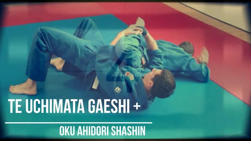 Oku ashidori shashin in the mount position