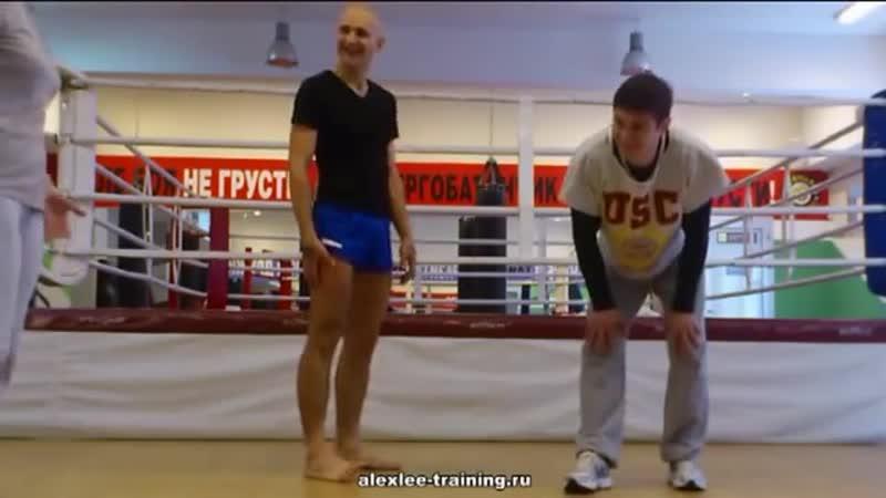 Александр Литвиненко Лоу Кик в чём секрет УДАРА