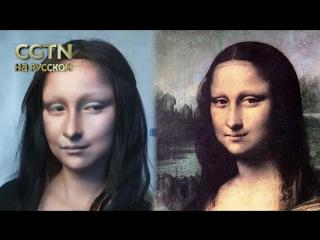 Женщины с картин Леонардо да Винчи ожили! Китаянка с помощью косметики творит настоящие чудеса со своим лицом.