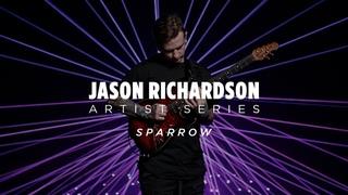 Ernie Ball Music Man Artist Series: Jason Richardson 2020 Rorschach Red 6 String Cutlass