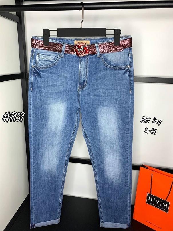 Стильные джинсы бойфренд   Качество ЛЮКС  Стрейч  Размеры 30, 31  Длина по внешнему шву 103 см  Длина по внутреннему шву 75 см  Ремень в комплекте   Цена   Фото сделано нами вживую