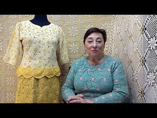 """Платье """"Бугенвиллия"""". Мастер-класс по вязанию крючком от О. С. Литвиной."""