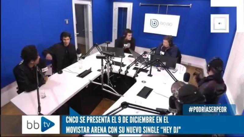 CNCO entrevista en Chile Chris se burla de Erick por su ingles CNCO FT Little Mix EL VIERNES
