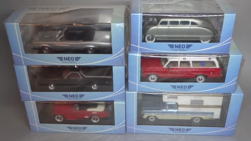 Новинки 2019 Масштабные модели Chevrolet - Dodge - Packard - Willys _ NEO Scale