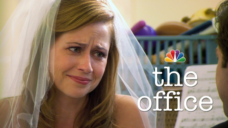 Jim Saves the Wedding The Office