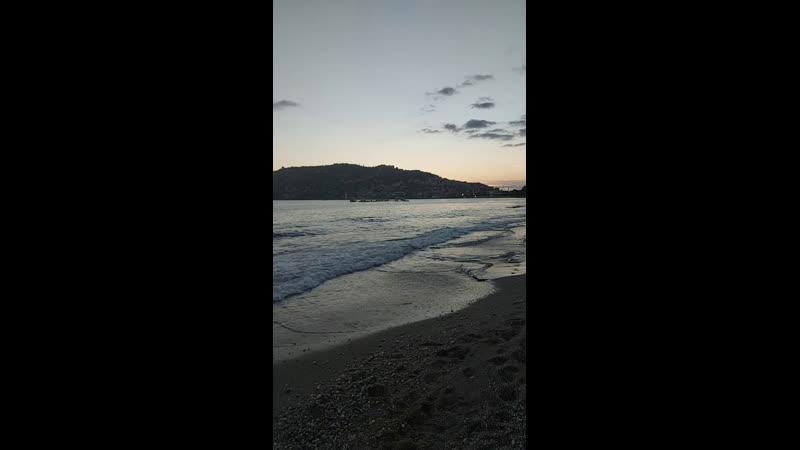 Закат в Алании пляж Кейкубат🌊🌅👌