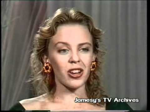 KYLIE MINOGUE on AMERICA'S TOP TEN 1988