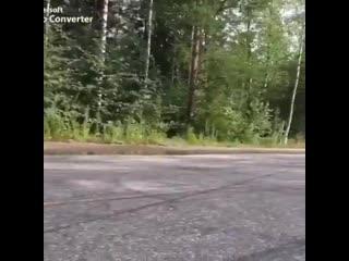 Нерядовой трюк на мотоцикле
