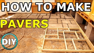How To Make Your Own Concrete Pavers Like a Pro ( PART 1)