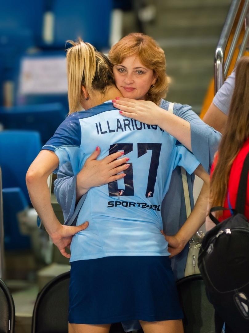 С мамой Любовью Ивановной