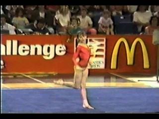 10th Natalia Kalinina FX   1990 US vs USSR 10 00 URS