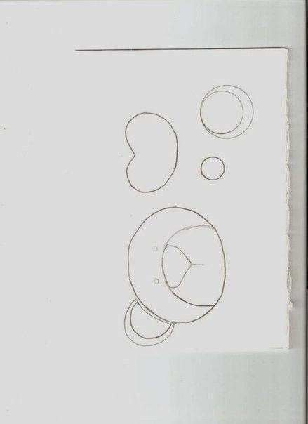 1. Распечатываем шаблон. Вырезаем из картона две заготовки. 2. Далее нам понадобится картон, 4 прямоугольника, размером 20 на 9,5 см. В каждом прямоугольнике вырезаем окошечки, отступив от