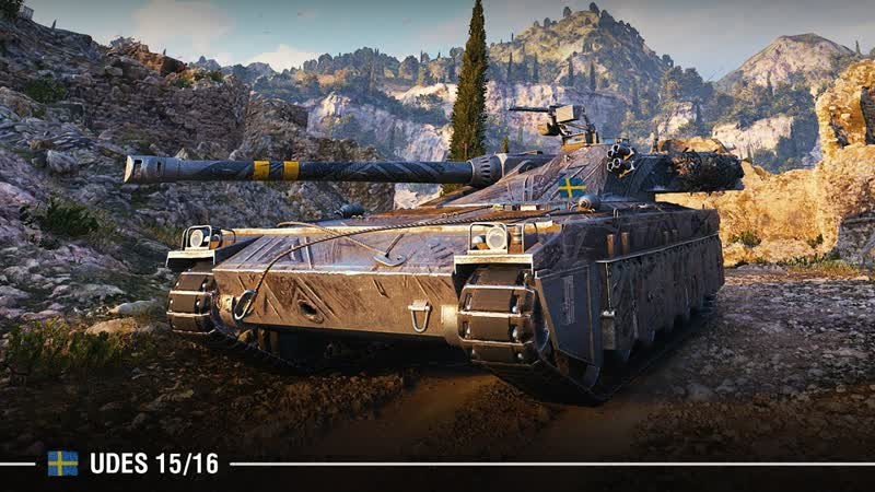 UDES 15 16 JUST PATIENCE World of Tanks 720p