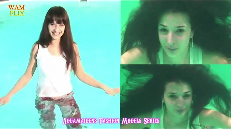 AQM Wetlook Fashion Model Underwater