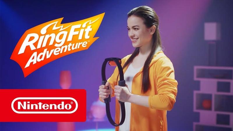 Ring Fit Adventure Бесплатное обновление Nintendo Switch смотреть онлайн без регистрации
