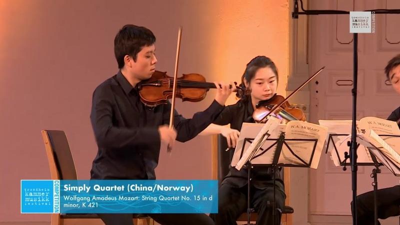 Simply Quartet Wolfgang Amadeus Mozart String Quartet No 15 in d minor K 421
