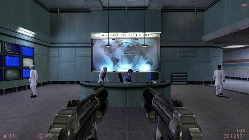 Brutal Half-Life: Source - Media Release 1 - Weapon's Showcase -W.I.P.
