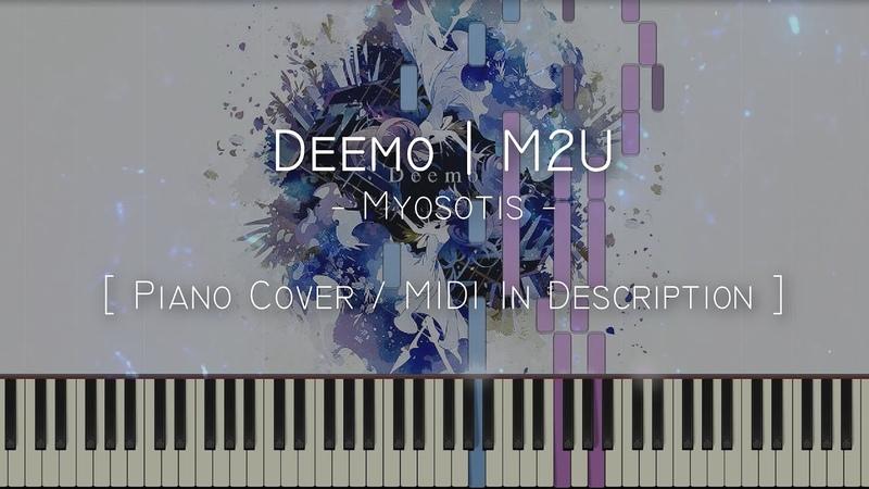 Myosotis - M2U NICODE (Deemo) - Synthesia Piano Tutorial