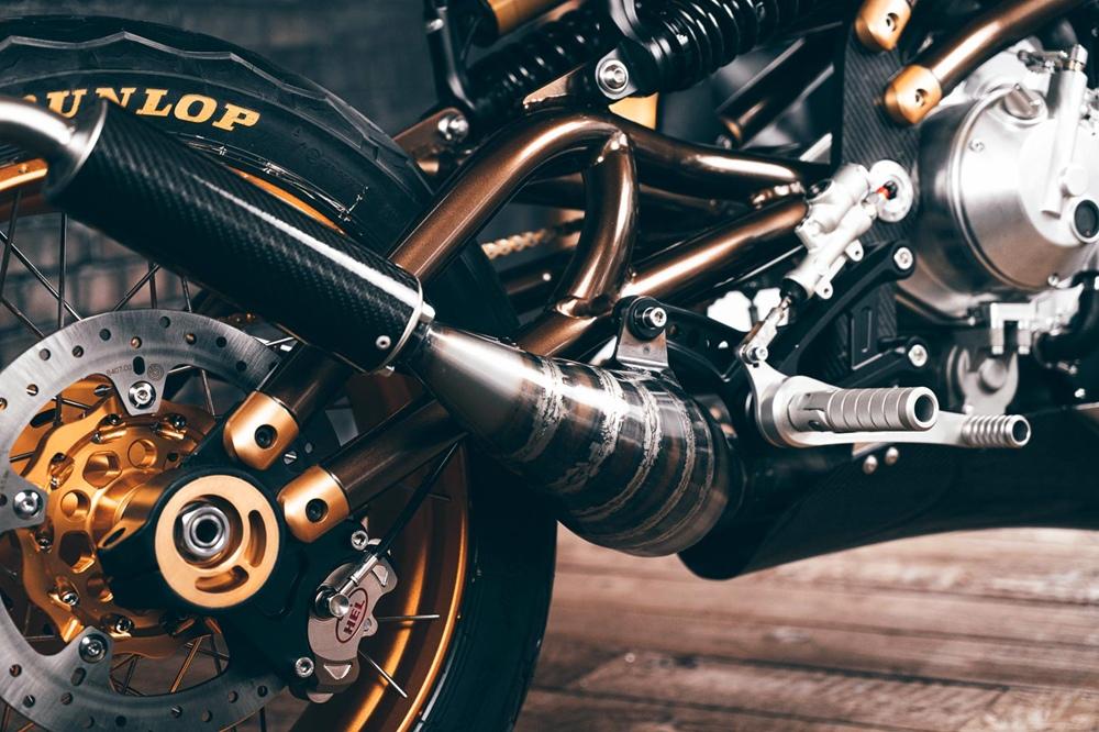 Двухтактный мотоцикл Langen Two Stroke 2021