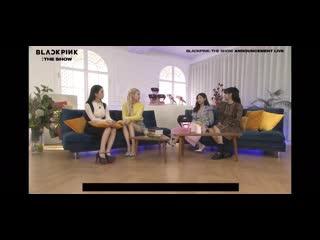 201204 BLACKPINK: THE SHOW Live Announcement
