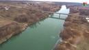 Мордовия Ковылкинский район Кочелаево Мост через реку Мокша Мокша подо льдом