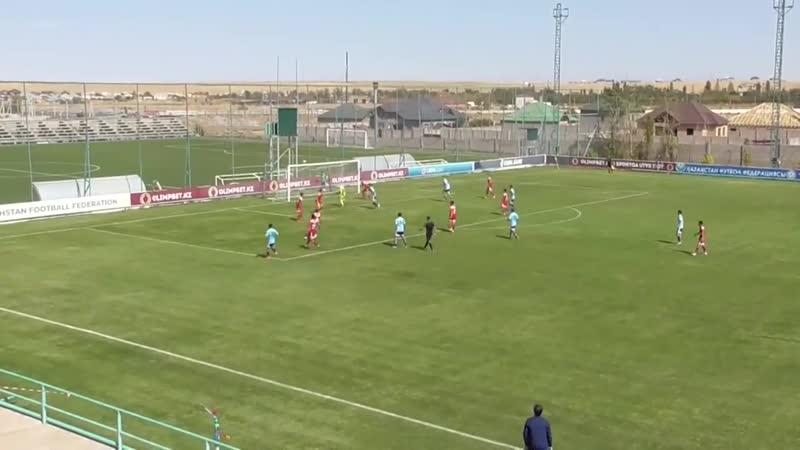 Гол защитника Алексея Подругина за казахстанский Алтай в первой лиге 24 09 2020