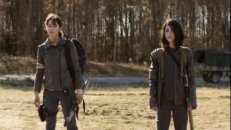 Ходячие мертвецы Мир за пределами 1 сезон 10 серия Хоуп и Хак 8