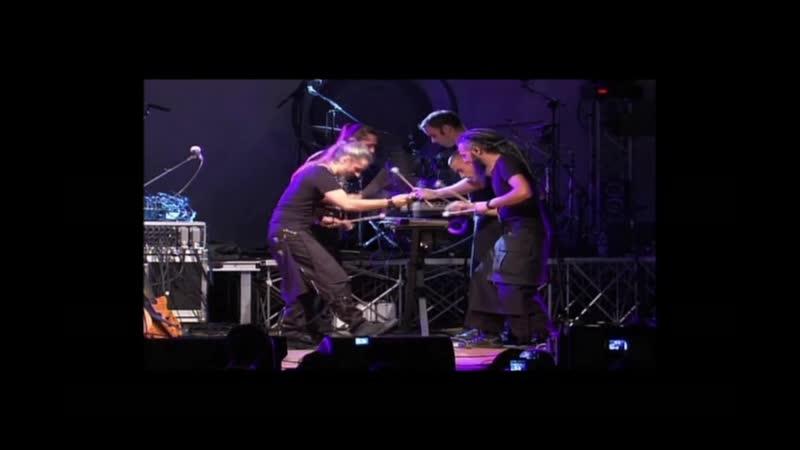 Lazuli 9 hands around the Marimba Live @ l'Abeille Rode 2013