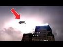 Офигенно! Огромные две НЛО - невидимки из облака попал на телевизионную камеру в Ханое Вьетнам.