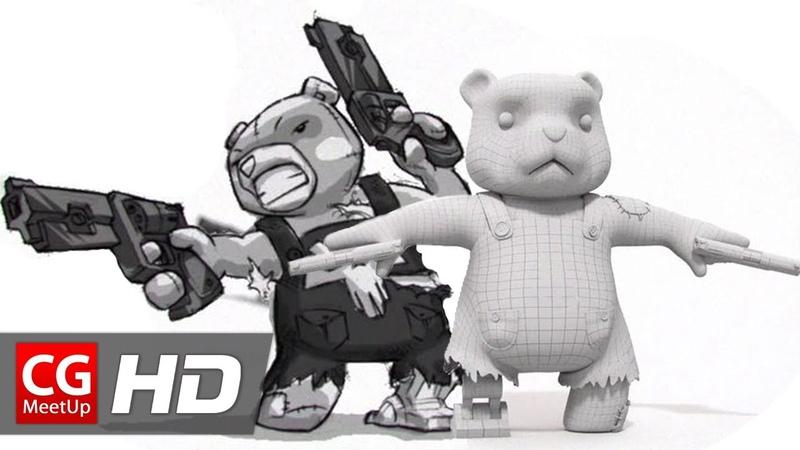 CGI 3D Breakdowns HD Making of The Mega Plush by Matt Burniston | CGMeetup