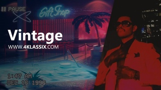 """Vintage"" 80's-90's Retro RnB beat by 4Klassix"