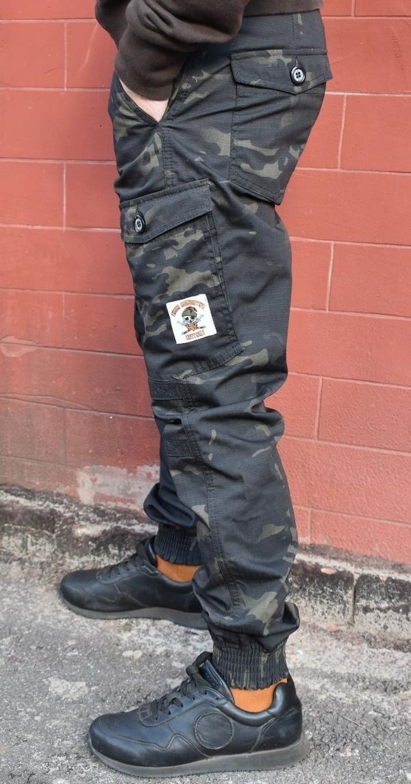 Карго Сфагнум Блэк: новое слово в расцветке карго брюк от «ВАРГГРАДЪ», изображение №4