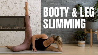 Brutal Booty + Leg Slimming Workout! // No Equipment + No Repeats