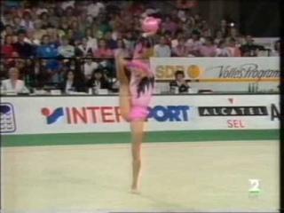 Oksana Kostina Ball AA EC 1992