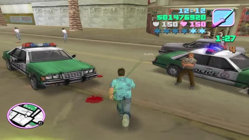 GTA Vice City Жажда смерти 29