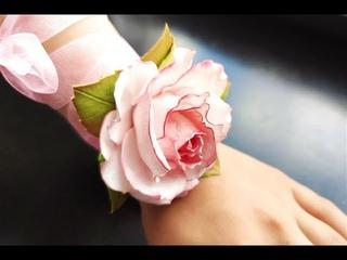 БРАСЛЕТ ДЛЯ ПОДРУЖКИ НЕВЕСТЫ МК / DIY Bridesmaid Wrist Corsage
